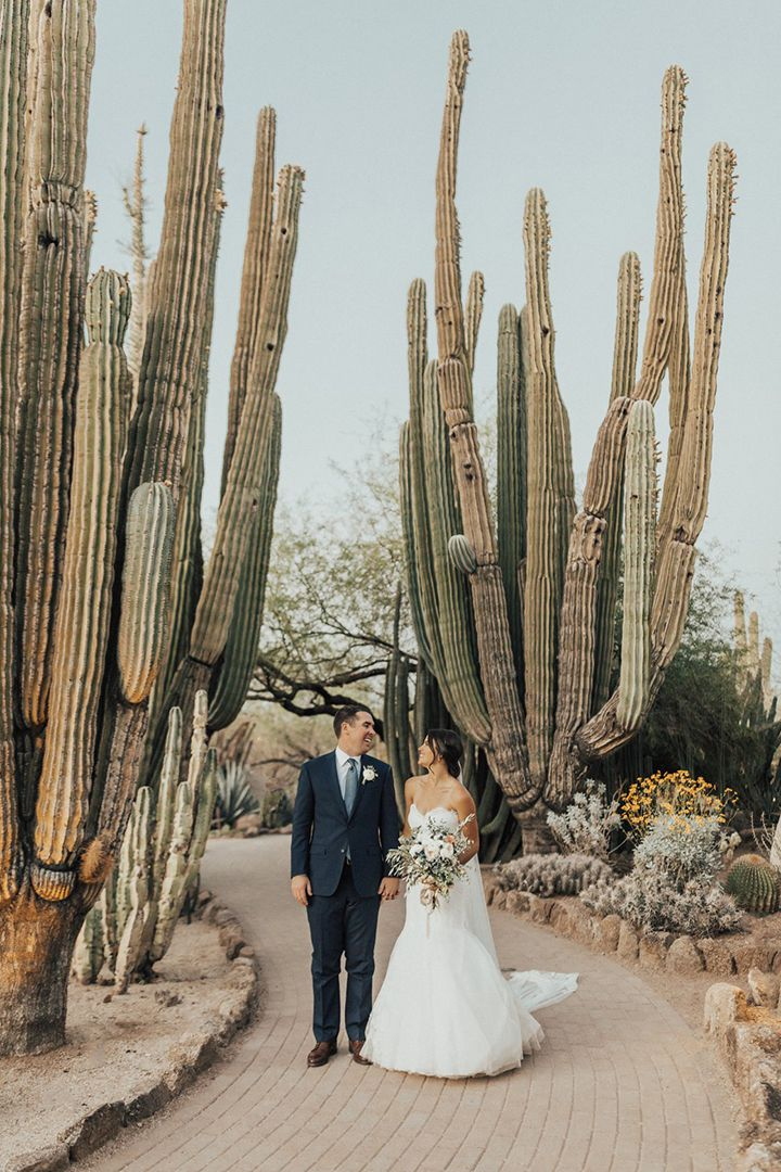 Luxe Wedding Venue: Desert Botanical Garden #botanicgarden