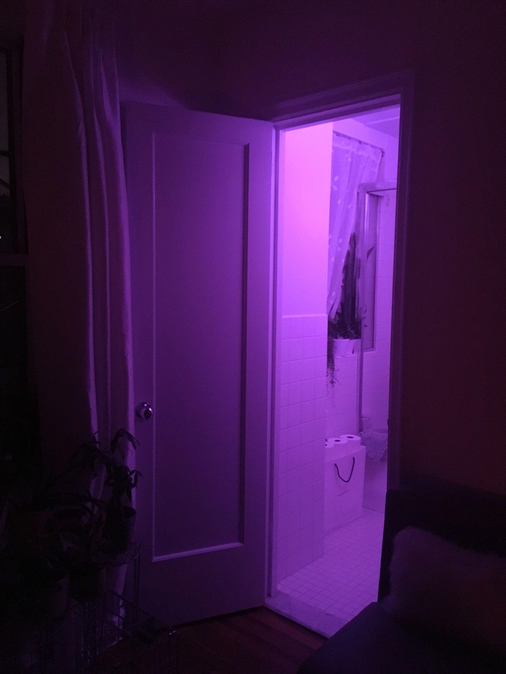 Purple Bathroom Aesthetic Purple Bathrooms Pink