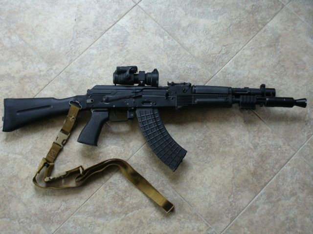 Arsenal 107cr With Rs Mount And Aimpoint Firearms Guns