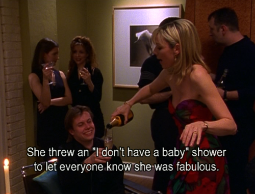 Sex and the city baby shower