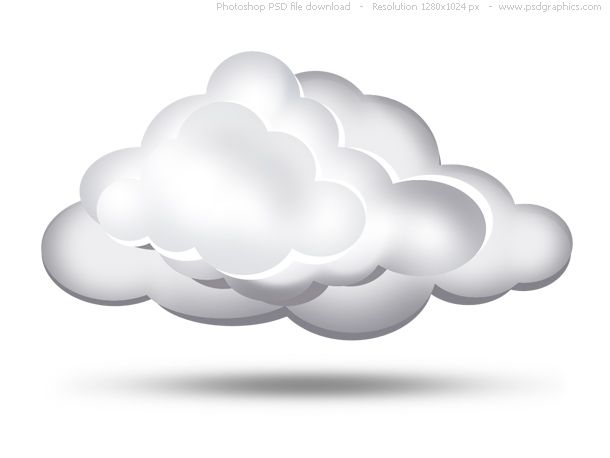 simple cloud cut out template simple clouds icon templates