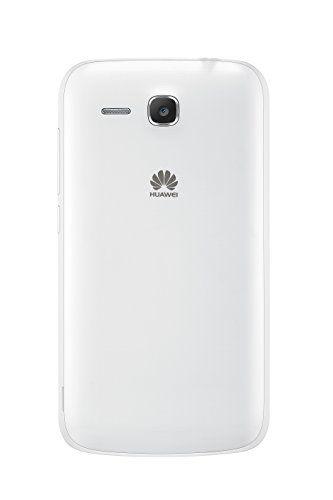 "Huawei Y600 - Smartphone libre Android (pantalla 5"", cámara 5 Mp, 4 GB, Dual-Core 1.3 GHz, 512 MB RAM), blanco"
