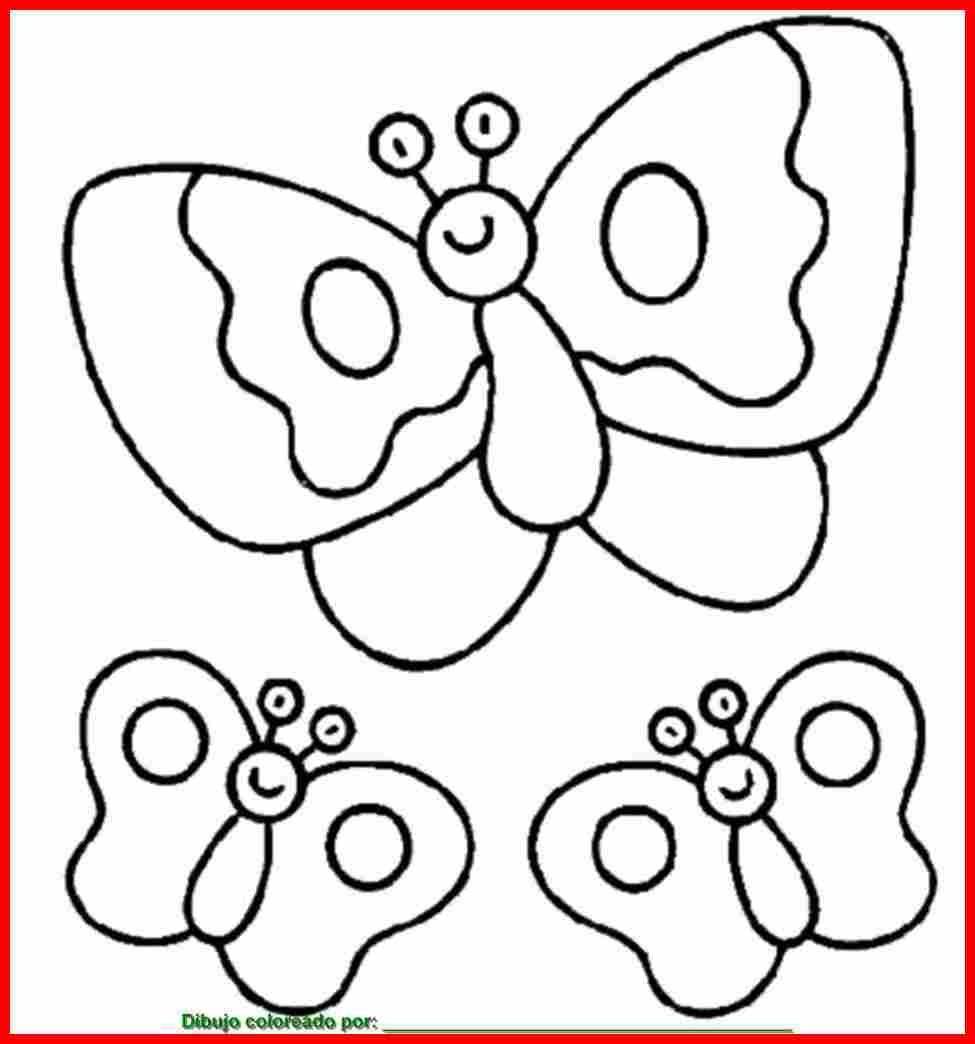 mariposas para colorear PULSAR SOBRE LA IMAGEN PARA IMPRIMIR ...