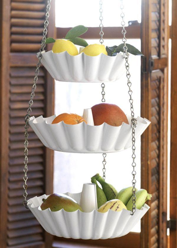 12 DIY Fruit Storage Ideen für eine bessere Küchenorganisation | DIY ...