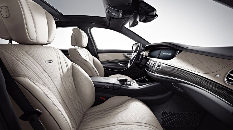 2014 Mercedes S63 AMG -  Interior