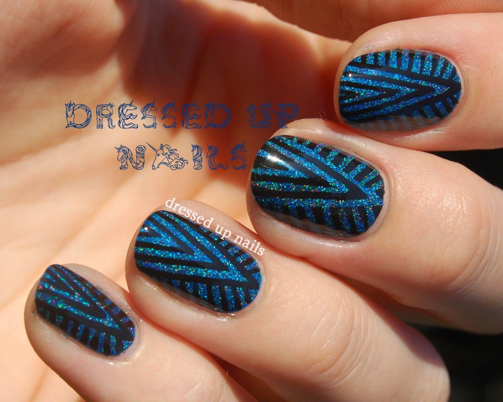 Keindahan Nail Art | Art deco nails, Chevron nail art and Creative nails