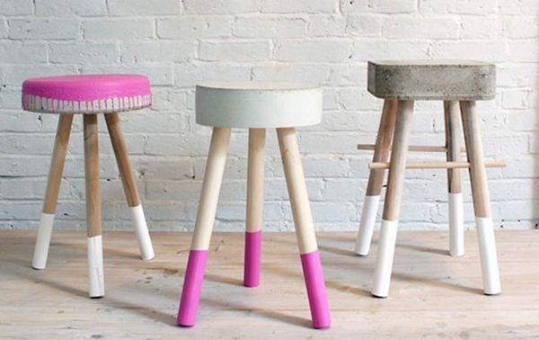 Costruire Uno Sgabello Da Bar In Legno : Come costruire uno sgabello in legno o cemento? scopri il tutorial