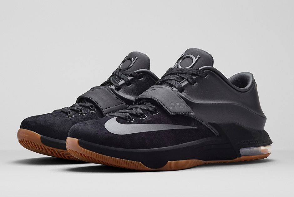 kd all black shoes