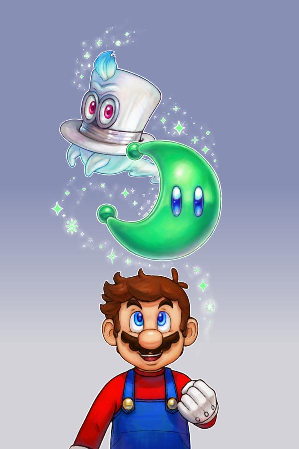 Super Mario Odyssey by domisolNO