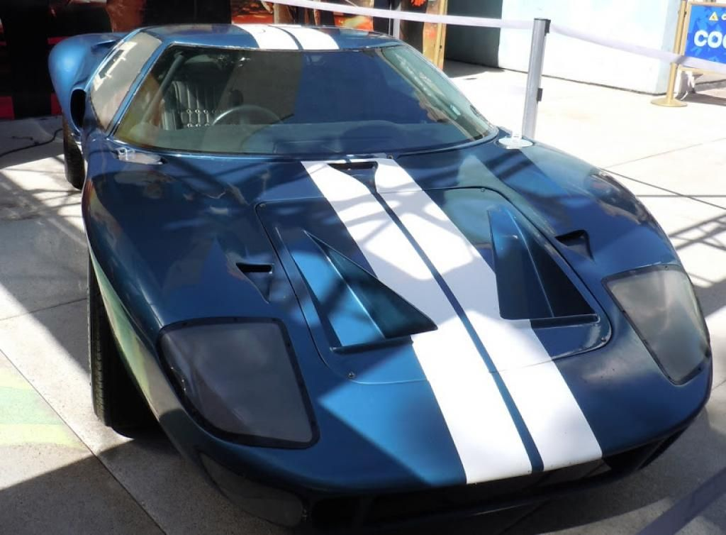 The Main Cars Of Fast Five  Ford Gt