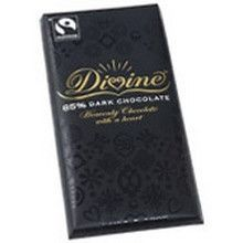 Divine Chocolate 85% Dark Bars (10x3.5 Oz)