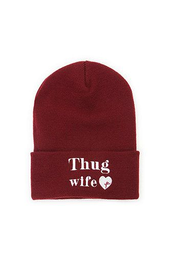 59a8b01d27d Young and Reckless Thug Wife Beanie at PacSun.com