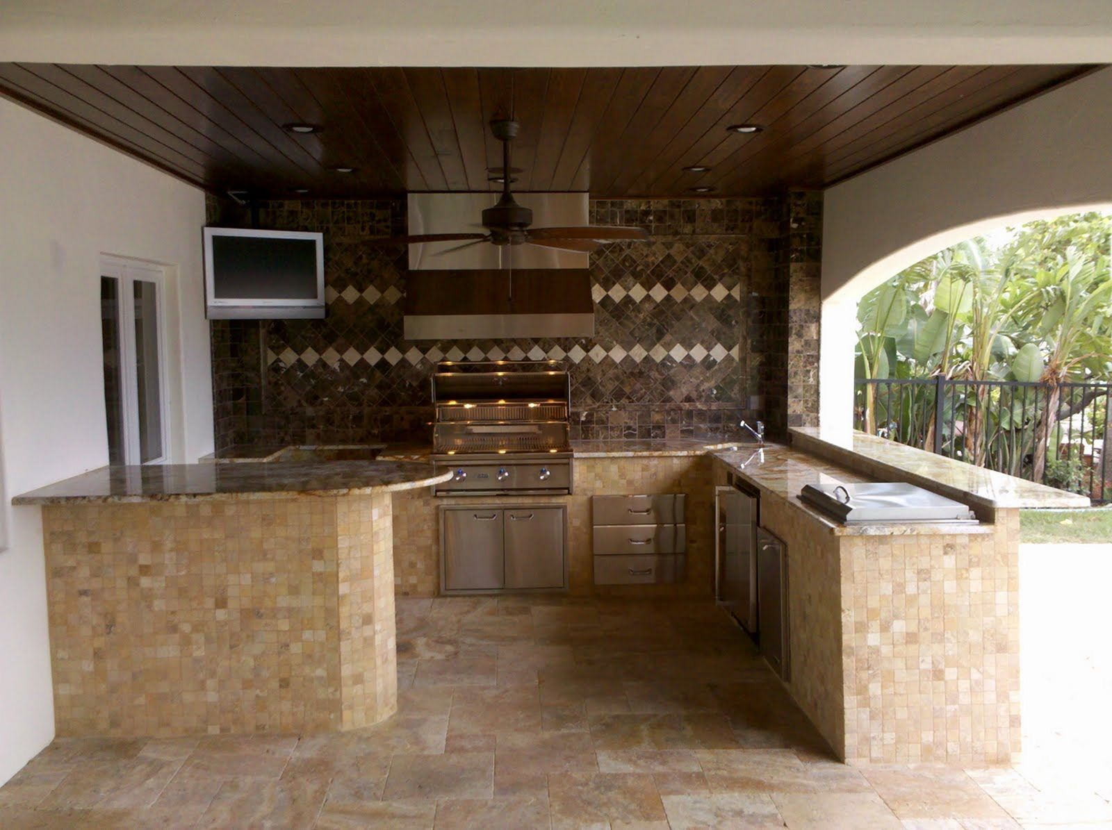 Diy outdoor kitchen kits  Amazing  Best Outdoor Backyard Kitchen Design Ideas For Your Home