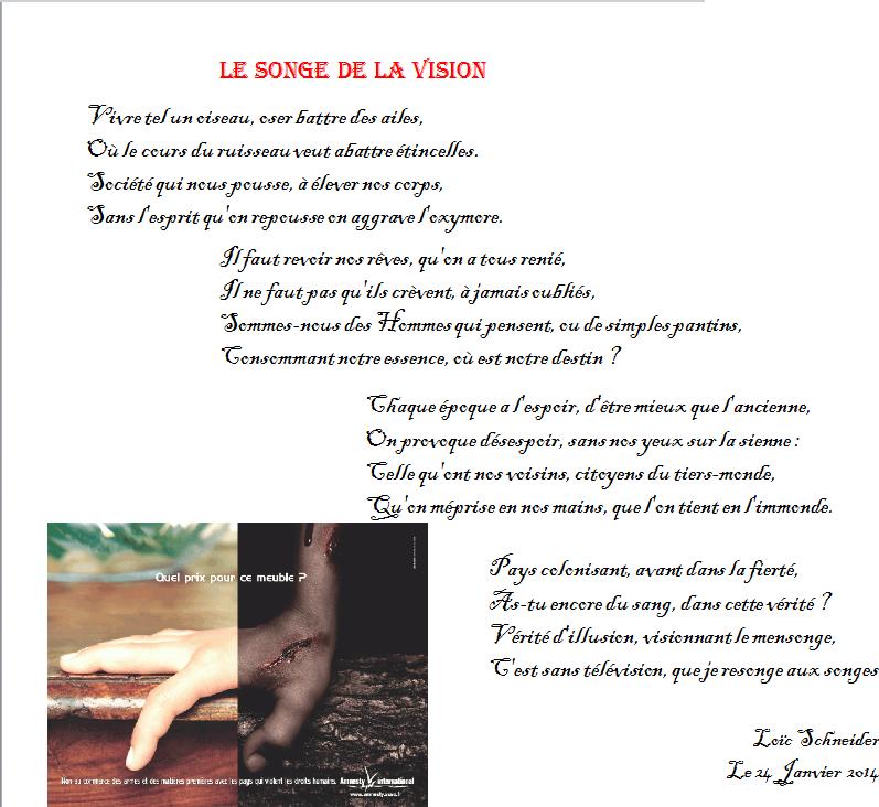 93 Le Songe De La Vision Poesie Poeme Esclavage Capitalisme Recueil De Poemes Esclavage Poeme