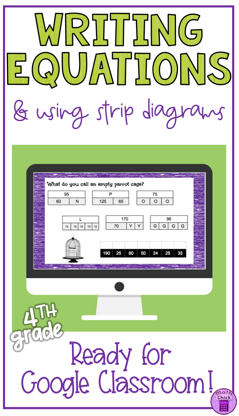 This Digital Google Classroom Google Slides Interactive Digital Resource Is The Perfect Way To Integrate Technol Writing Equations Google Classroom Equations