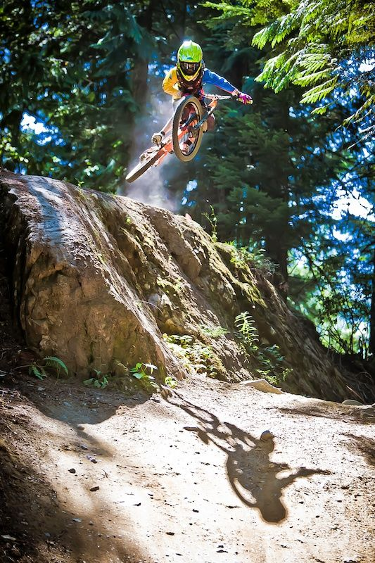 Sending The Big Side On Duane Johnson In Style Mountain Bike