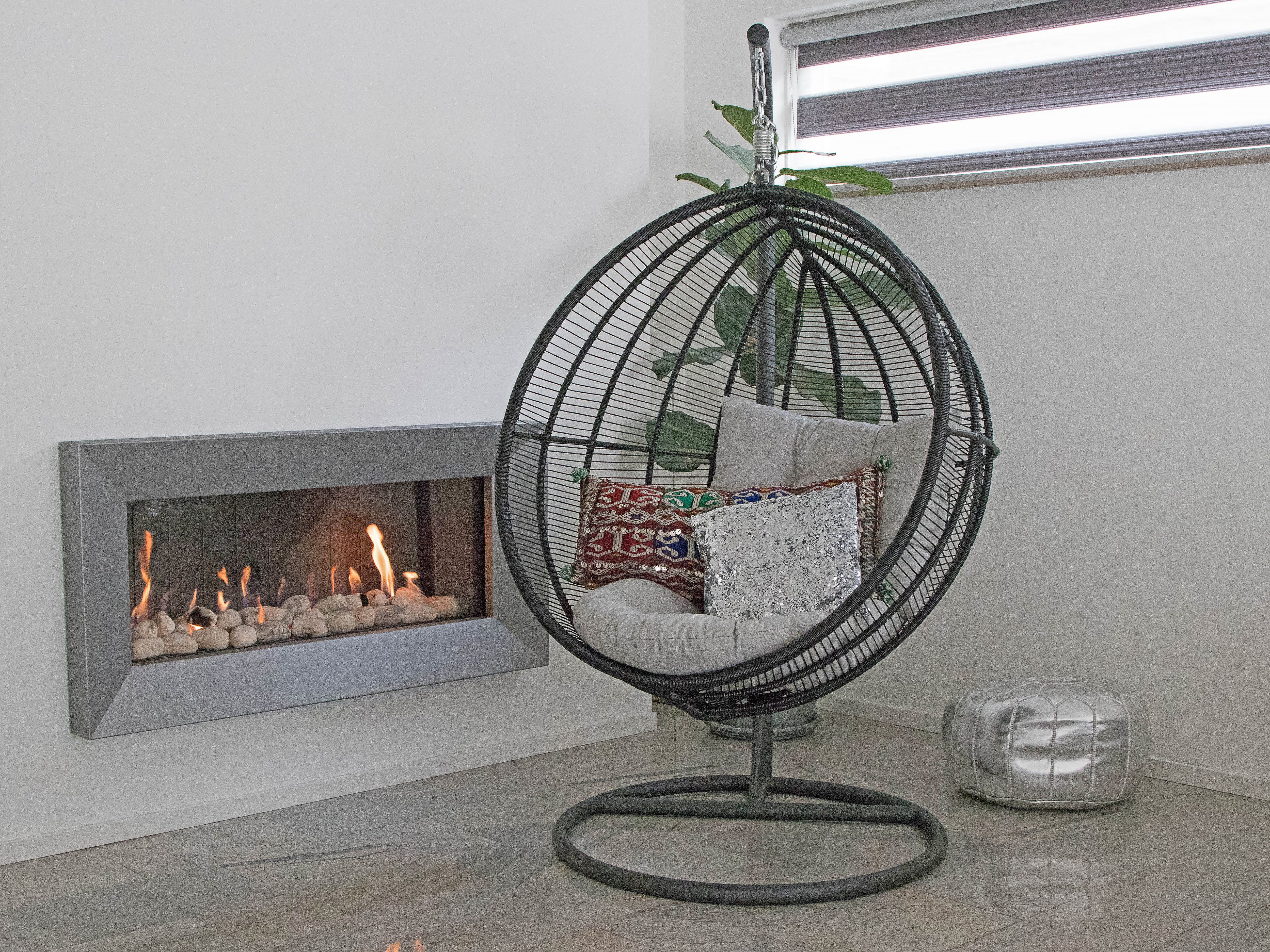 Design Hangstoel Binnen.Hangstoel Binnen Standaard Hangstoel Luna Mooie Standaard Voor De