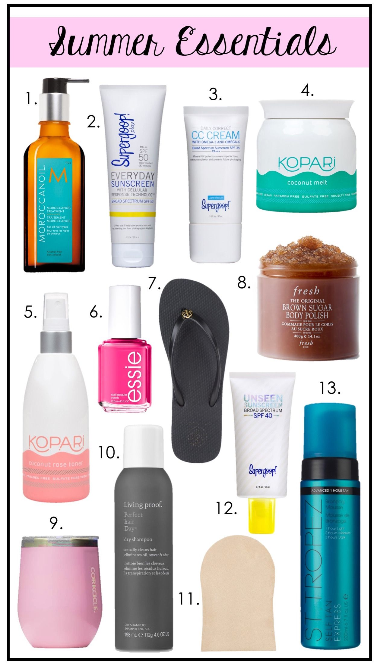 2019 year lifestyle- Beauty summer products 4
