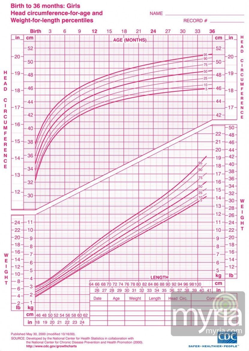 Growth Chart Girls Myria 1 Toddler Growth Chart Growth Chart Growth Chart For Girls