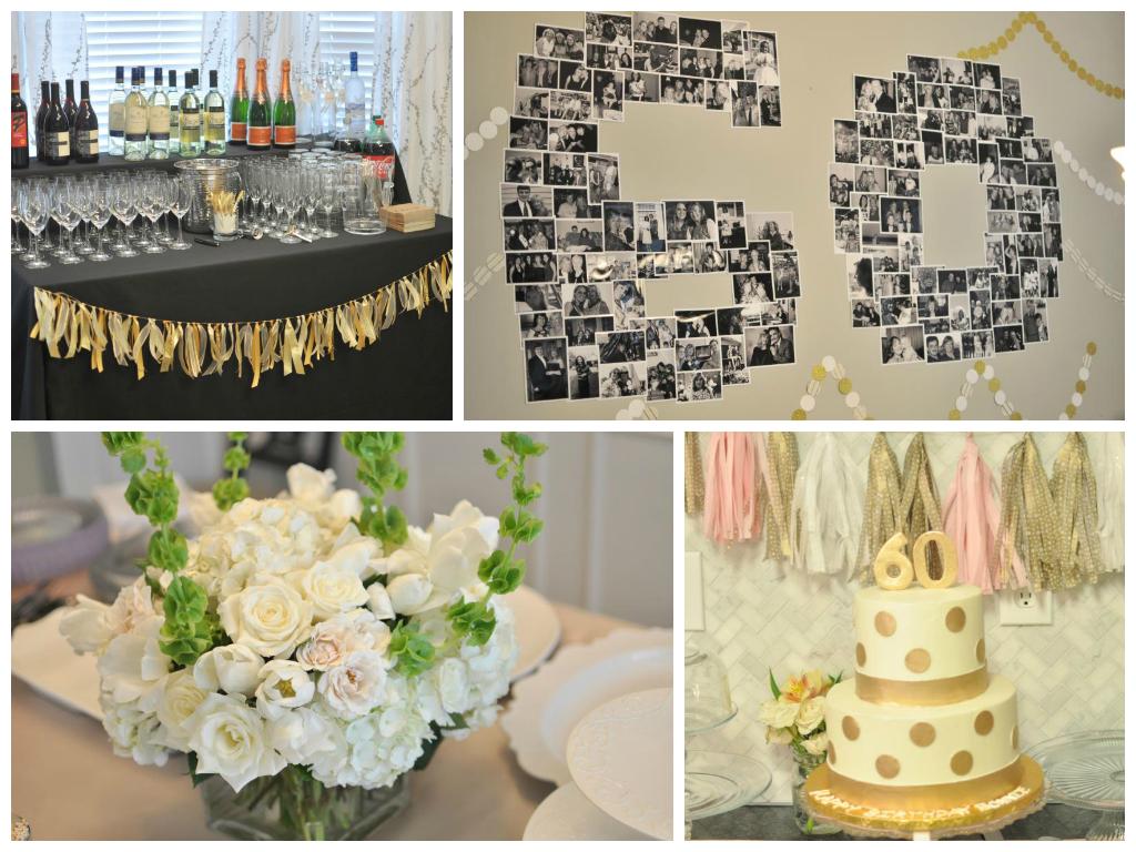Decorating Ideas 60th Birthday Party