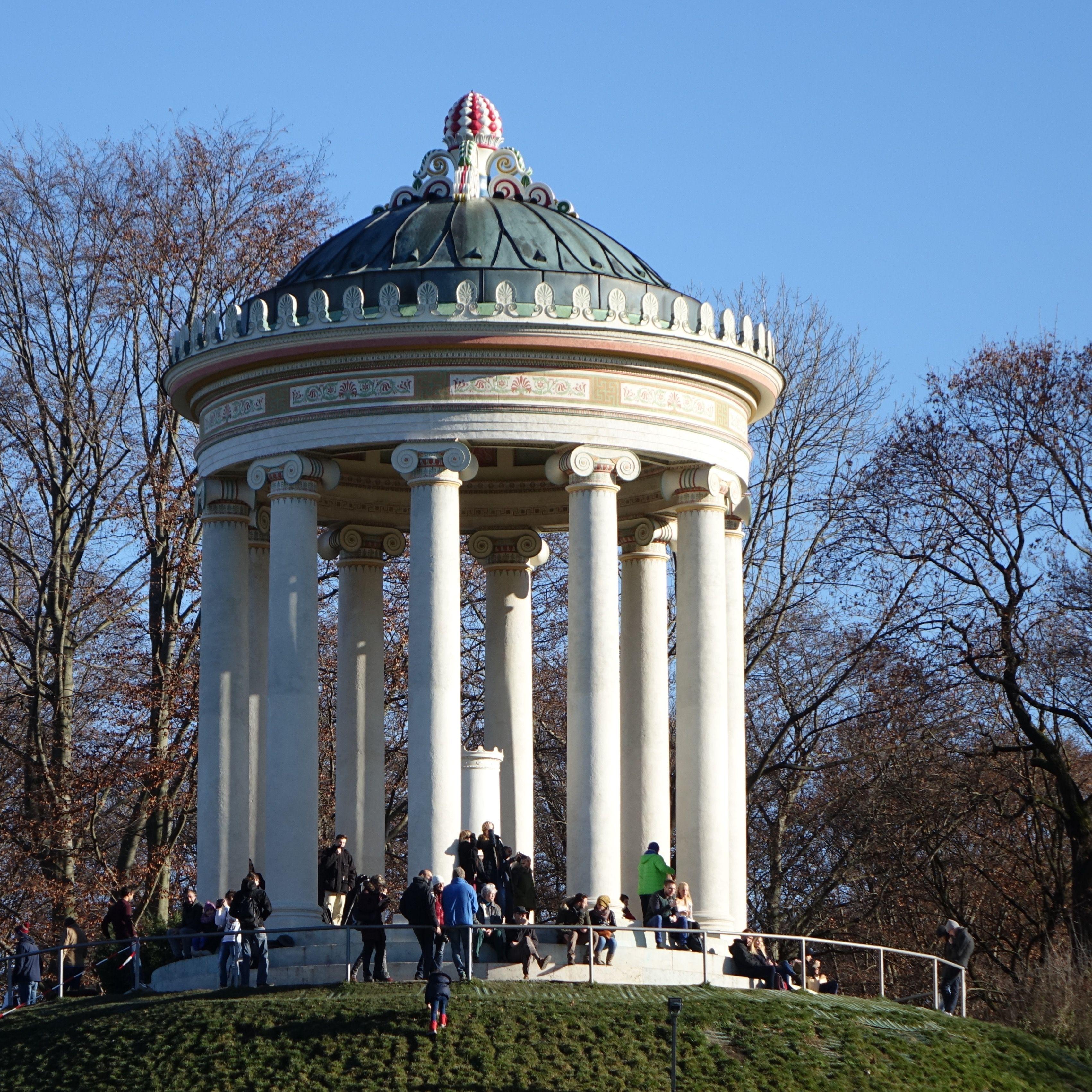 Munich Germany Munchen Deutschland Englischer Garten Monopteros Neoclassical Architecture Architecture Gazebo