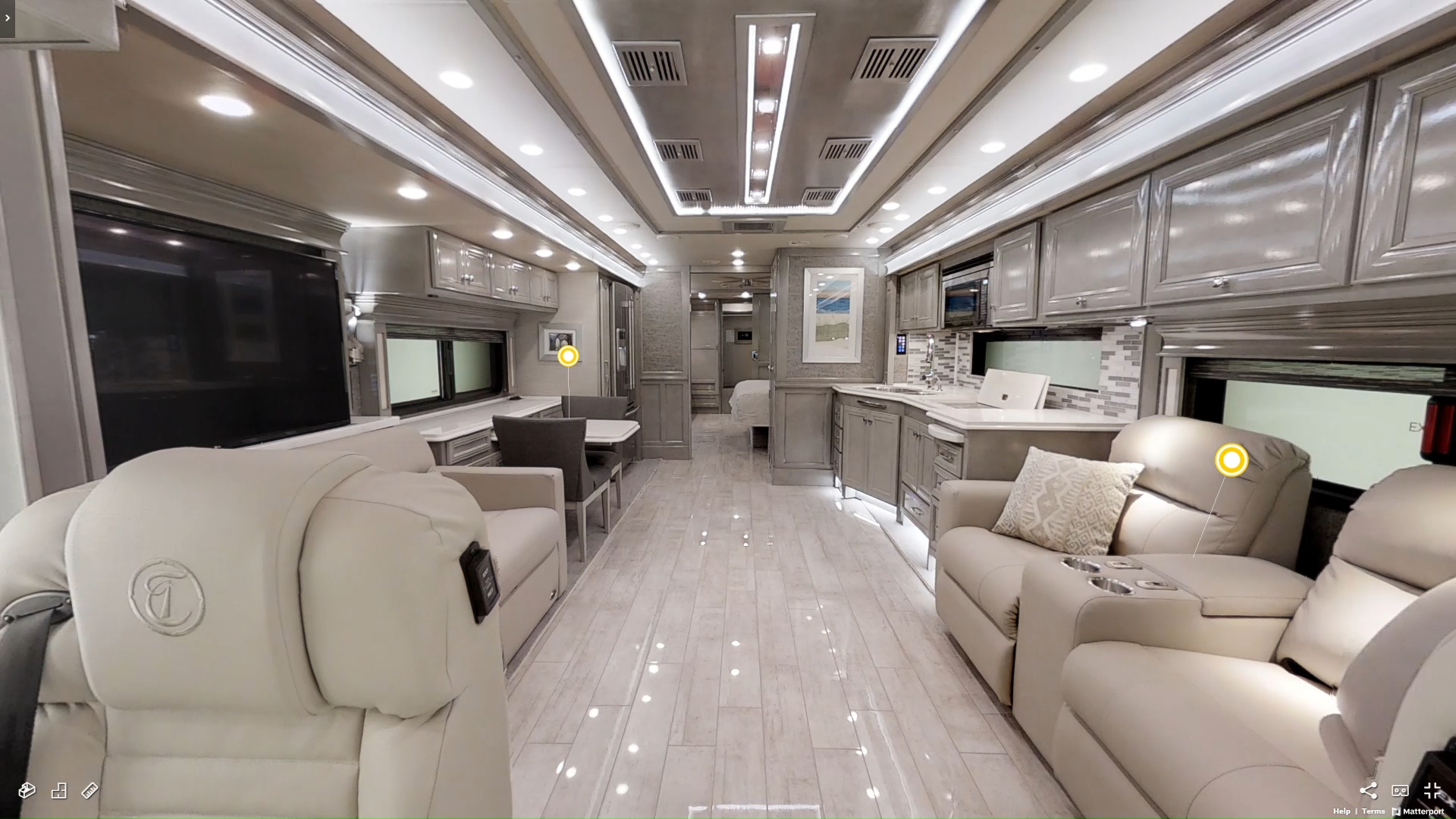 Experience the #TiffinMotorhomes #Phaeton in person at Lazydays! This amazing #LuxuryRV is even more impressive when you're walking through it yourself. Tiffin truly knows how to help you live the #RVLifetyle