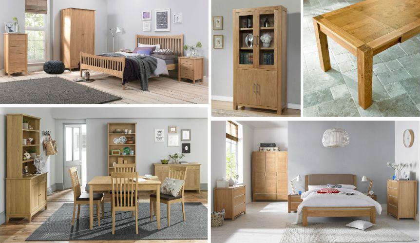 Colours That Go With Oak Furniture Oak Bedroom Furniture Oak Bedroom Bedroom Furniture Layout