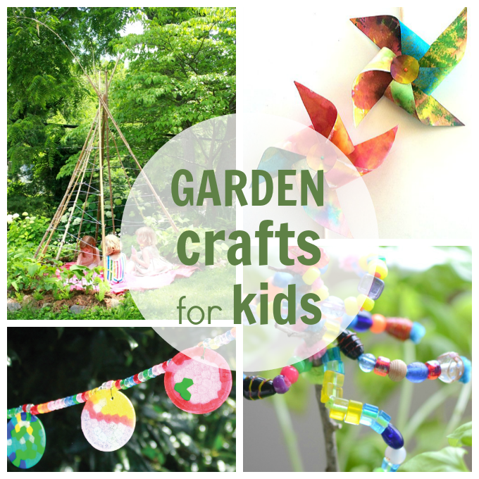 Beautiful Garden Crafts For Kids   Plus Other Fun Nature Arts And Crafts Ideas Photo Gallery
