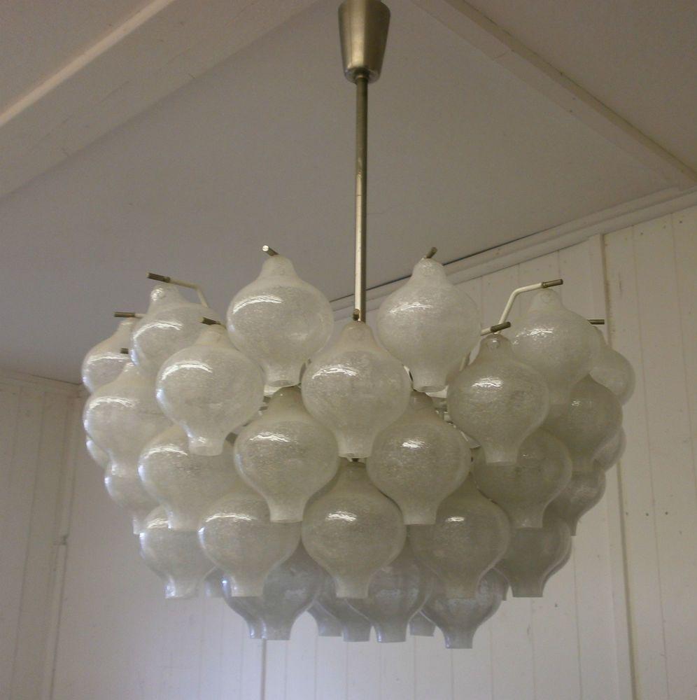 Kalmar Tulipan Ice Glas Chandelier Xl Kronleuchter Ideen Design Ebay