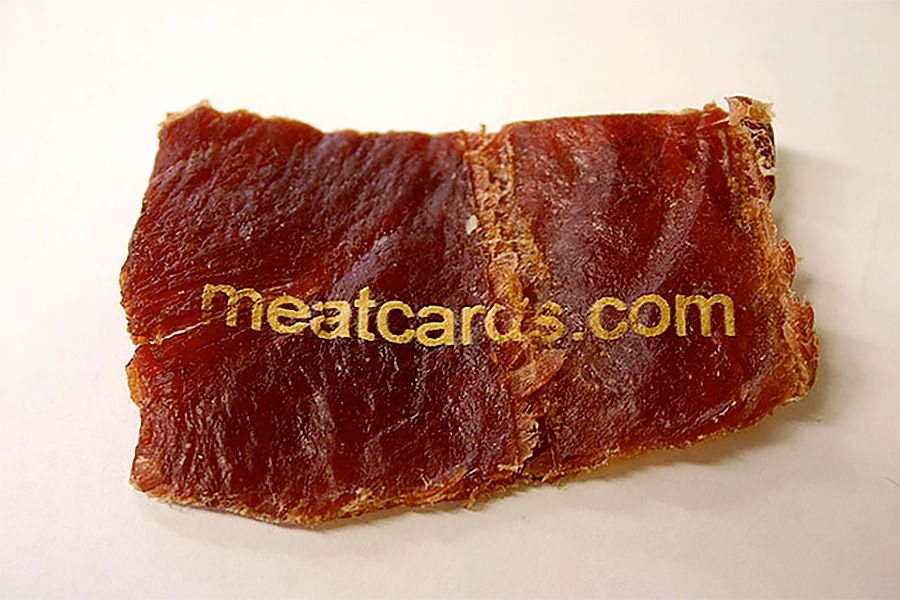 Meat Business Card | Business Cards | Pinterest | Business cards and ...