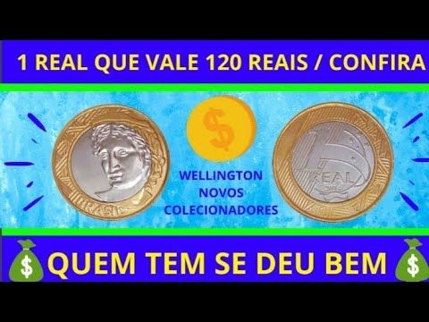 CONFIRA 1 REAL 2014 VALOR 120 REAIS COBIÇADA NA NU...