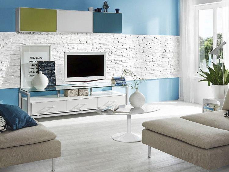 Kreative Wandgestaltung Im Wohnzimmer 3d Wandpaneele Mit Bildern Wandgestaltung Wohnzimmer Wandpaneele Steinoptik Wohnzimmer Design