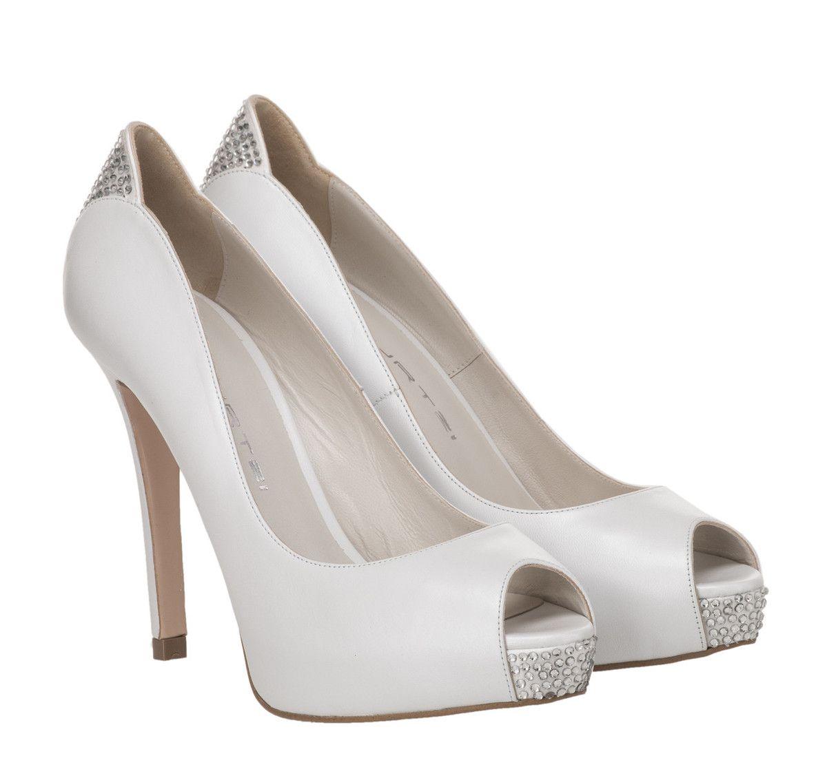 d1d622221ff ΝΥΦΙΚΑ ΠΑΠΟΥΤΣΙΑ ΓΟΒΕΣ MOURTZI (WHITE) | Perfect Bridal Shoes ...