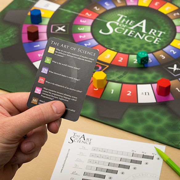 The Art of Science Advanced Trivia Game   Trivia games  Trivia and     The Art of Science Advanced Trivia Game