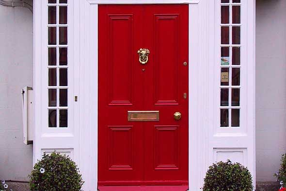 red door paint color | As long as it matches your home color try to & red door paint color | As long as it matches your home color try ... pezcame.com