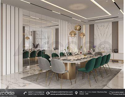 interior design -Luxury Dining Room