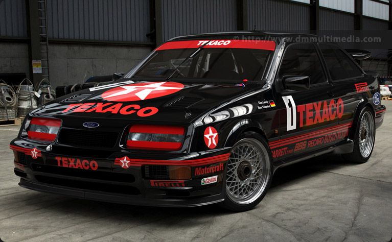 The Ford Sierra Cosworth Rs500 In Iconic Eggenberger Works Colours