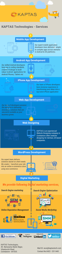KAPTAS Technologies, a renowned IT company based in
