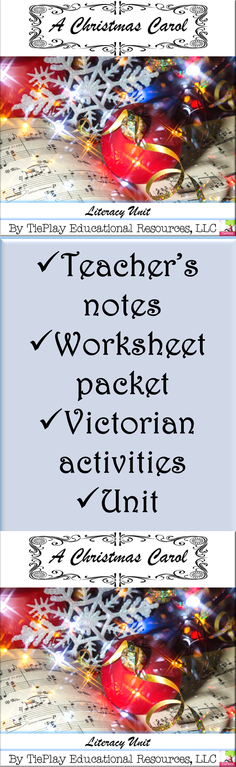 A Christmas Carol Unit Literacy Victorian Age Worksheet Activity Packet No Prep | The unit ...