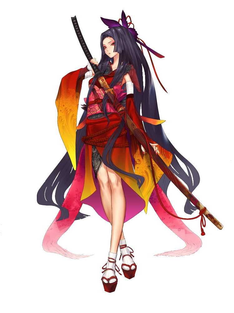 Samurai Female Manga warrior