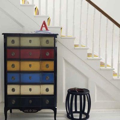 Commode Multicolore   Meubles Peints   Pinterest   Commodes, Meubles