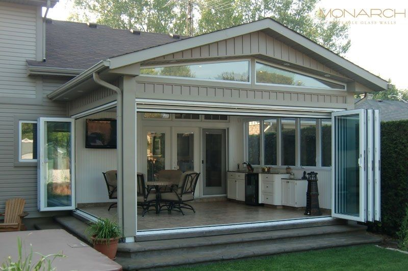 Gallery Monarch Moveable Glass Walls Patio Doors Pinterest