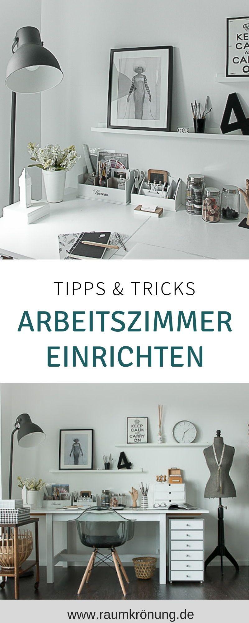 Tipps Tricks How To Create Wie Aus Einem Gastezimmer Mein Arbeitszimmer Wurde Arbeitszimmer Einrichten Skandinavisch Einrichten Gastezimmer Einrichten