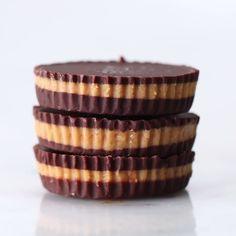 5-ingredient Chocolate Peanut Butter Cups Recipe b