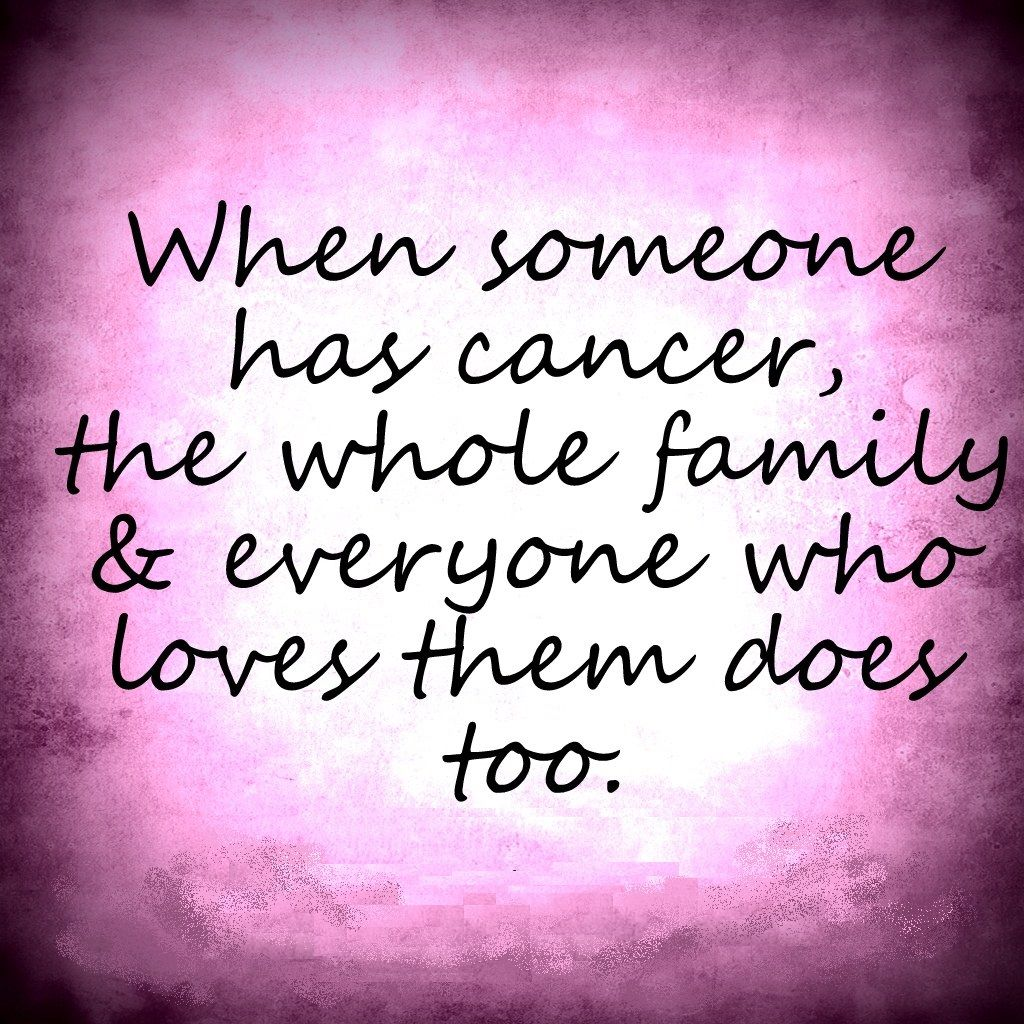Discover and share Cancer Quotes Support Explore our collection of motivational and famous quotes by authors you know and love