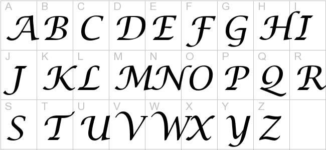 Lucida handwriting italic calligraphy foutain pens