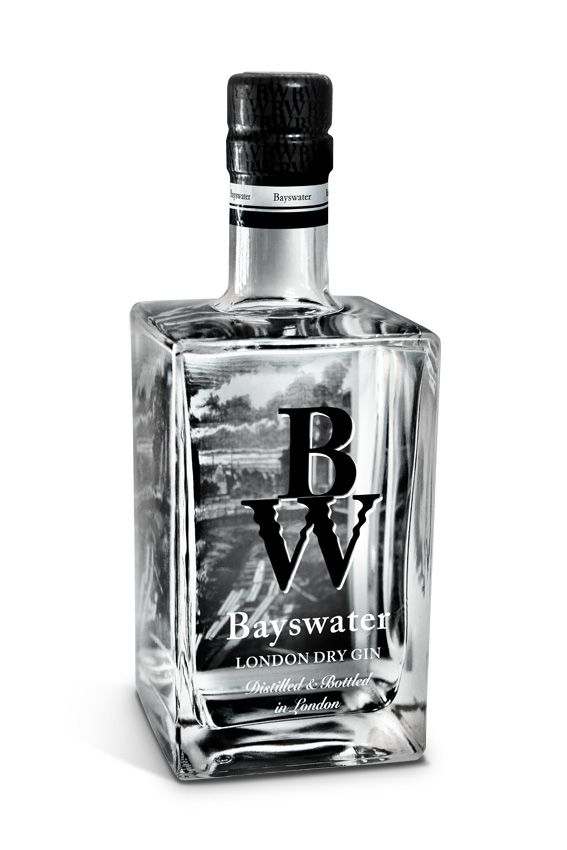 Bayswater Gin - 5 x Destilled London Dry Gin - os