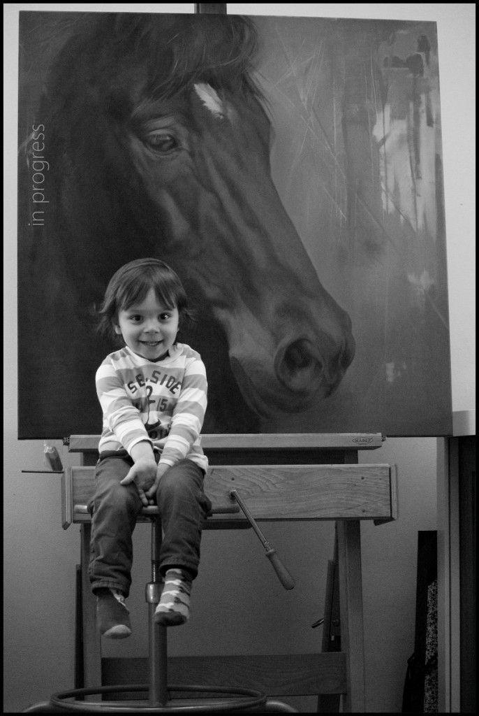 Pieter en het paard