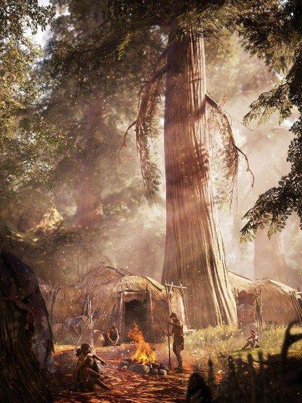 The Art Of Far Cry Primal Daily Art Paisaje De Fantasía Evolución Humana Far Cry Primal