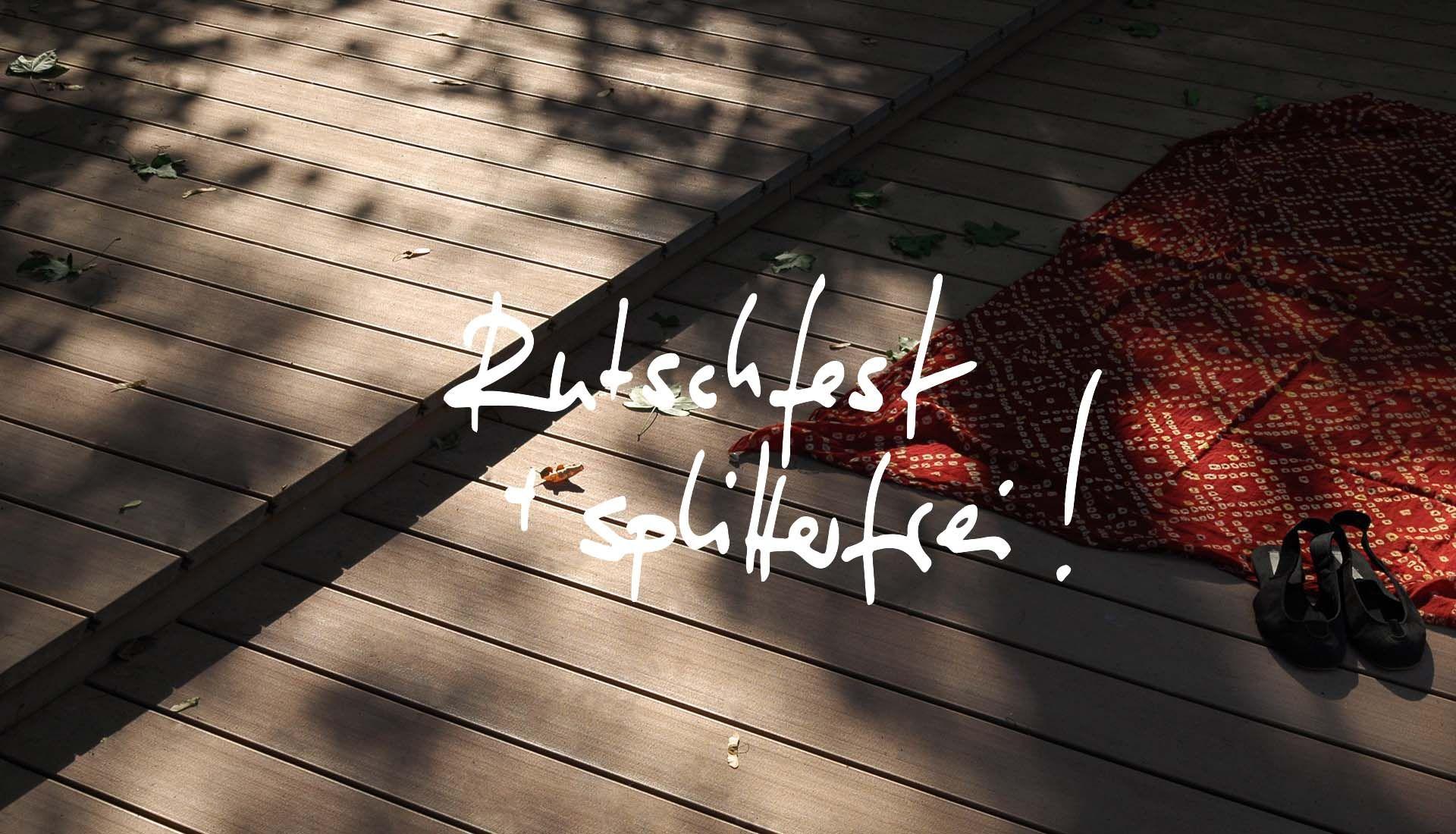 Mydeck Wpc Preise runde terrassen der messe köln mit massiven dunkelbraunen wpc